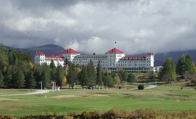 hotel de acontecimento da reunião em Bretton Woods