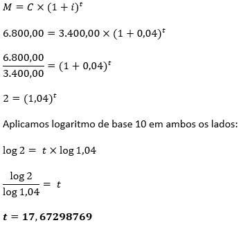 Cálculo de juros compostos
