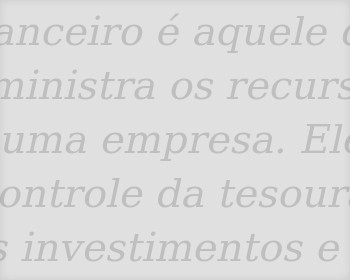 Departamento financeiro