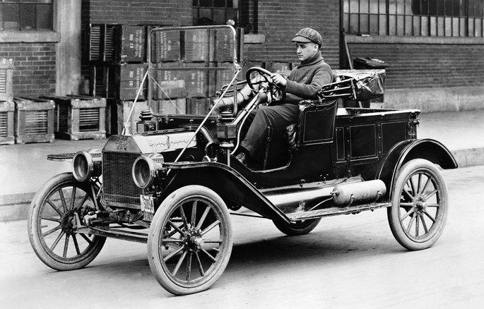 Exemplo de um Ford Modelo T