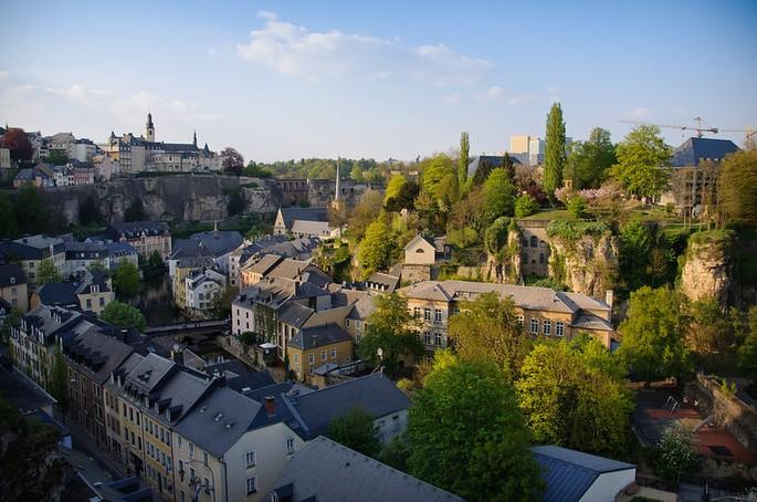 Luxemburgo país mais rico em PIB per capita
