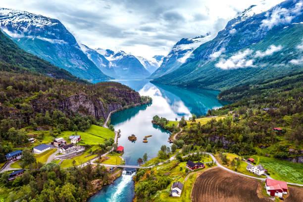 Países mais ricos do mundo Noruega