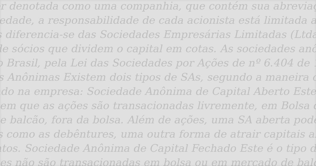A dissolução parcial da sociedade anônima fechada - Machado Meyer